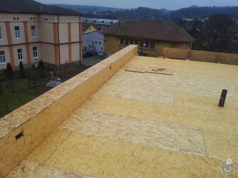 Konstruujeme střechy. Tesaři Praha.